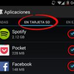 Descargar aplicaciones para tarjeta SD