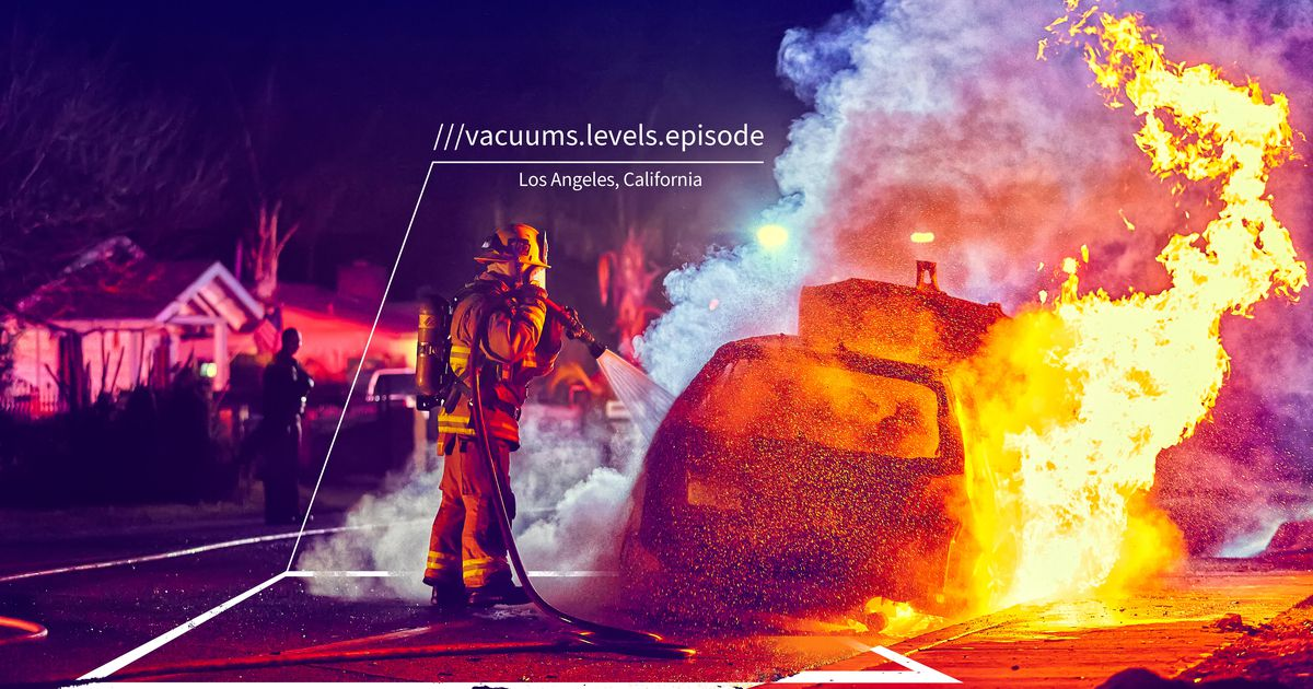 ¿Perdido en Los Ángeles?  El departamento de bomberos puede encontrarlo con la tecnología de ubicación What3words