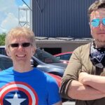 John Carmack visita la base estelar de SpaceX de Elon Musk, se hacen selfies