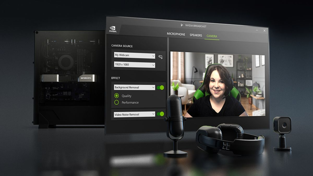 La actualización de Nvidia Broadcast se asegurará de que se escuchen sus gritos