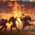Hay combates aplastantes y patadas voladoras en esta saga de venganza vikinga de desplazamiento lateral