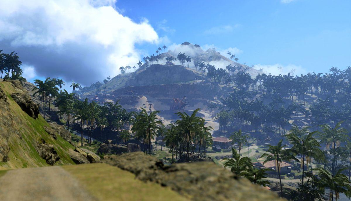 Aquí está nuestro primer vistazo al nuevo mapa de la isla del Pacífico de Call of Duty: Warzone