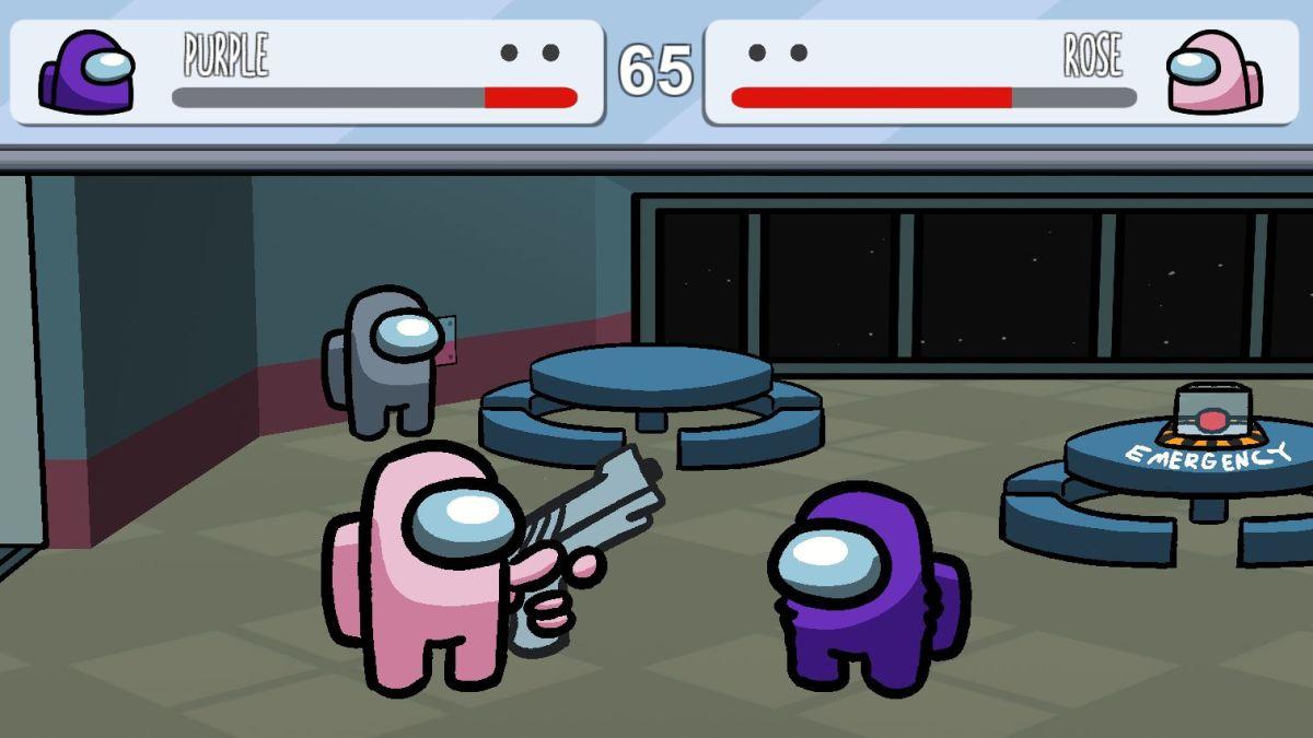 Los miembros de la tripulación de Among Us dan un puñetazo en este juego de lucha creado por fans