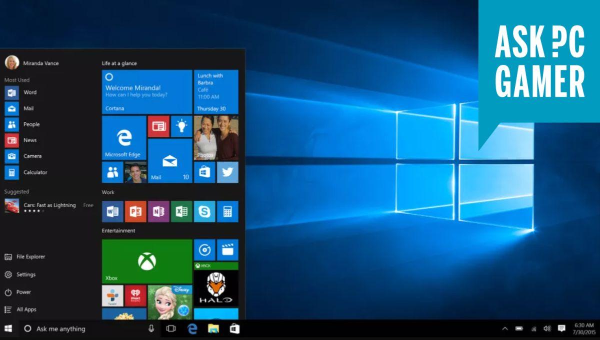 ¿Necesito una clave de Windows 10 para mi PC?