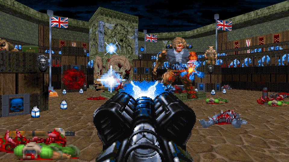Caza a una Maggie Thatcher resucitada en esta campaña terriblemente británica de Doom.