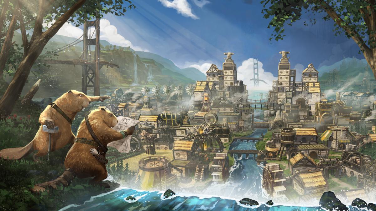 Timberborn, un juego sobre las ciudades geniales que construirán los castores después de que todos estemos muertos, ya está disponible en Steam