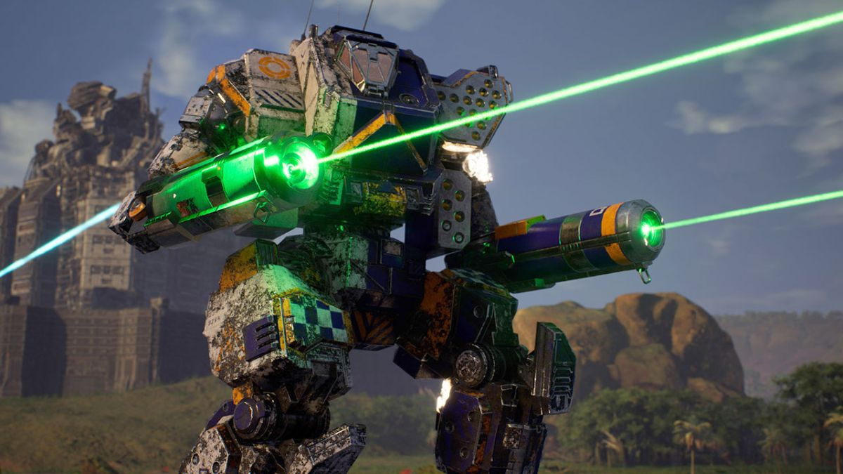 La expansión MechWarrior 5: Kestrel Lancers se lanza la próxima semana, agrega 'Mega Cities'