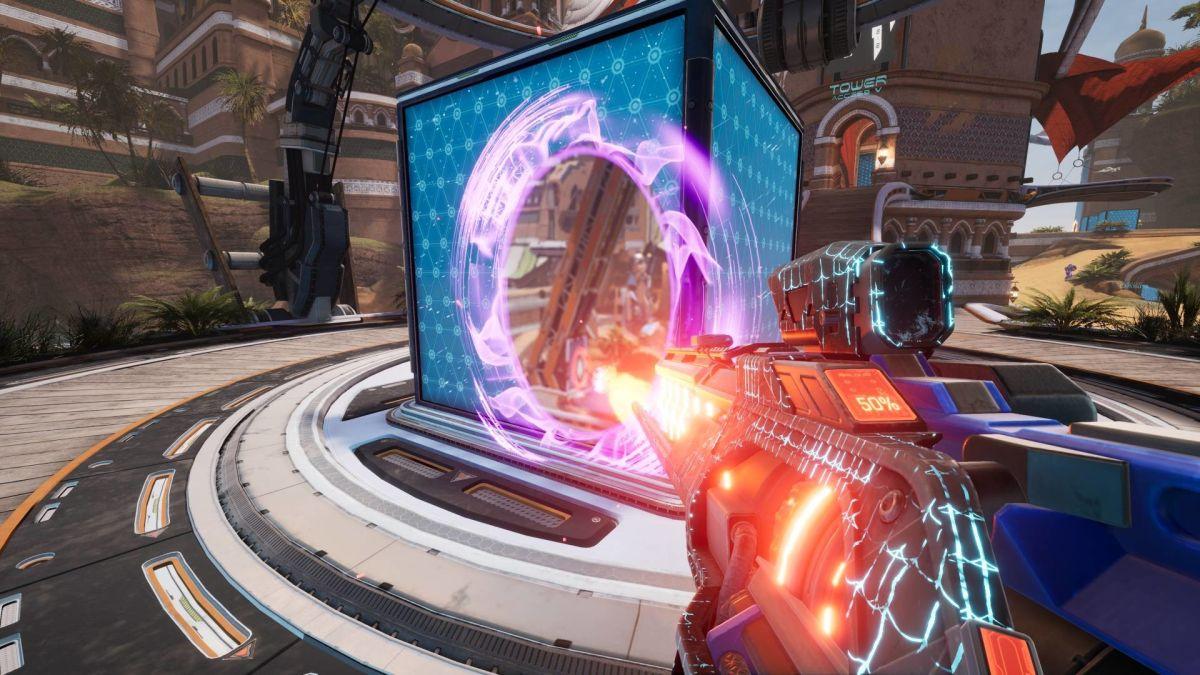 Splitgate presume que tendrá un editor de mapas estilo Forge antes de Halo Infinite