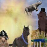 Crapshoot: Uno de los juegos bíblicos más extraños de la historia, The Zoo Race