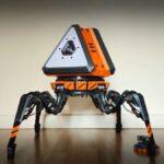 El ingeniero construye un robot de botín de Apex Legends que realmente camina
