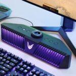 LG hizo una barra de sonido especialmente para jugadores con RGB, micrófonos integrados y un precio de $ 500
