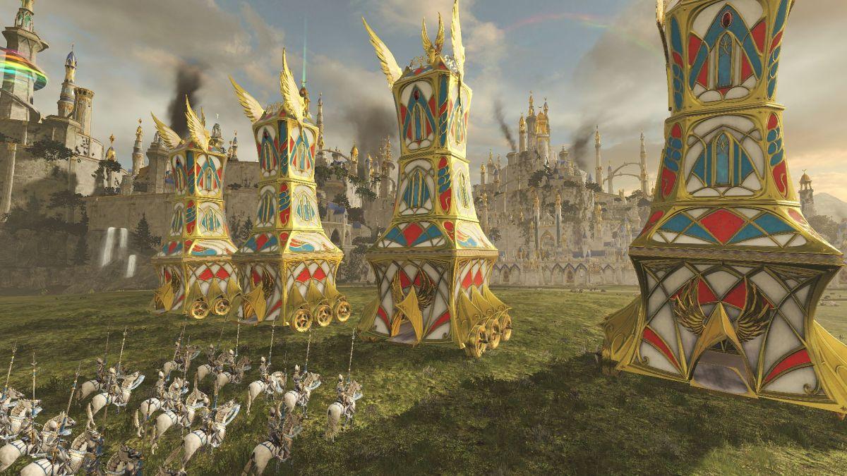 Total War: los asedios no amados de Warhammer se están reelaborando en el tercer juego