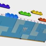 Este kit de RAM DDR5 inspirado en Lego está totalmente apilado