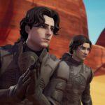 El crossover Dune de Fortnite presenta el gusano de arena más tonto de todos los tiempos