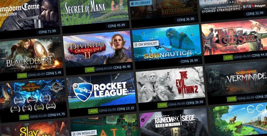 Fechas de venta de Steam: ¿Cuándo es la próxima venta de Steam?