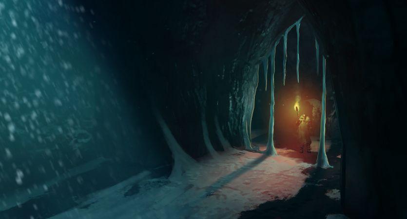 Valheim se burla del bioma de Mistlands y nuevas cavernas en las montañas